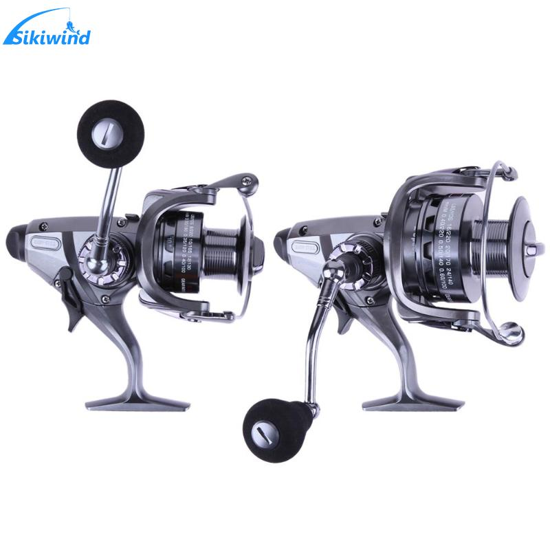 10+1 BB Ball Bearing 6.3:1/4.3:1 Gear Ratio Front and Rear Drag Power Saltwater Carp Spinning Fishing Reel with Extra Spool