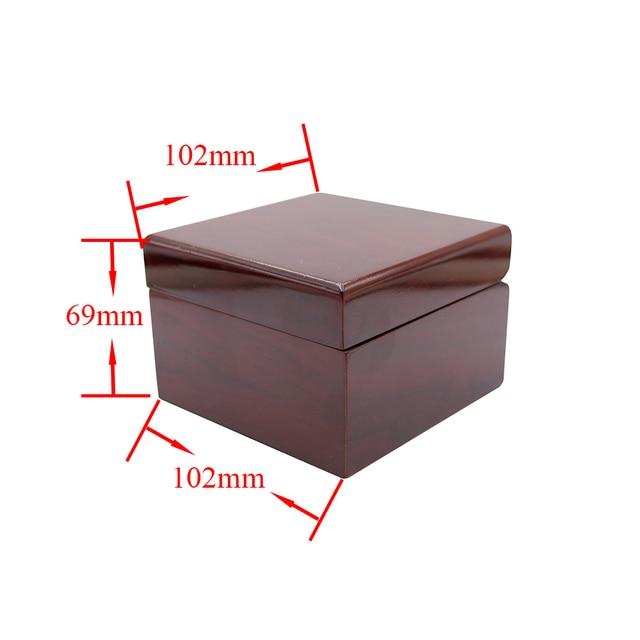 CARLYWET Wholesale Fashion Luxury Wood Watch Box Jewelry Storage Case Gift Box W