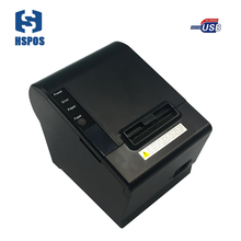 Quality pos 58mm thermal receipt printer usb port with auto cutter small ticket printer high speed printing for supermarket