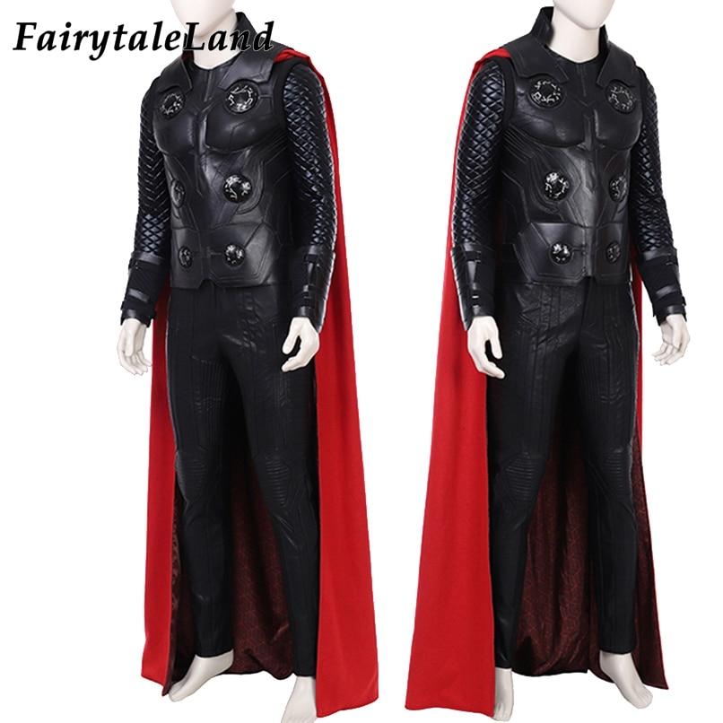 Takım Cosplay Kostüm Thor 5