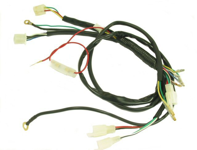online buy whole motorcycle wiring parts from motorcycle general wire harness for 4 stroke small atvs and dirt bikes motorcycle