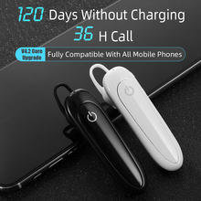 New Handsfree Wireless Bluetooth Earphones Noise Control Business Wireless Bluetooth Headset with Mic for Driver Sport xiaomi