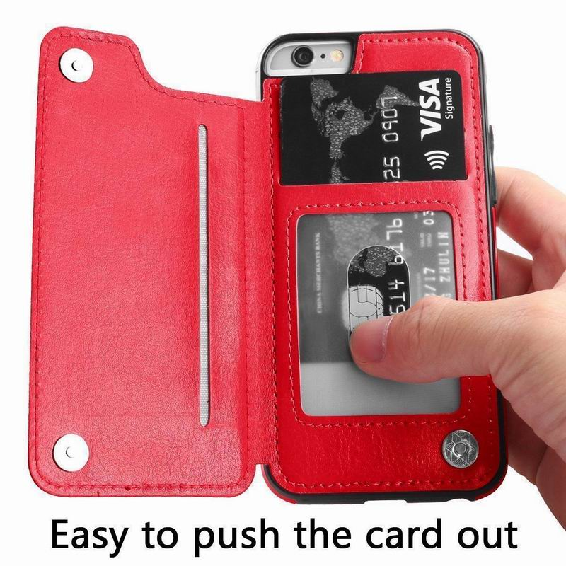 PU Leather Flip Wallet Case for iPhone 11/11 Pro/11 Pro Max 15