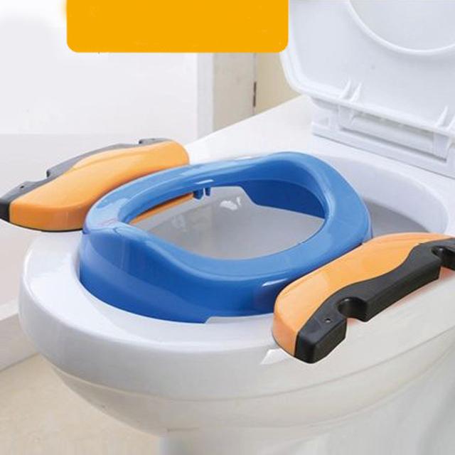 Portátil Do Bebê Sentar Implementar Penico Dobrável Cadeira Crianças 2 em 1 Assento Assento Implementar ToiletAssistant de Viagem Portátil Multifuncional