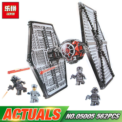 Lepin 05005 Star Wars Toys First Order Tie TIE Fighter Model Compatible legoing 75101 Building Block Funny Bricks For Kid Gift