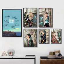 BTS Posters Clear Image Wall Stickers Home Decoration High Quality Prints RM Jimin Jin Coated Paper HOME ART Brand(China)