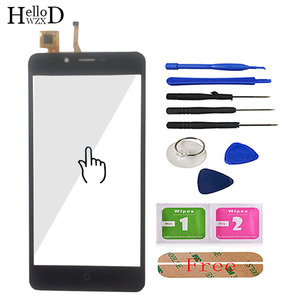 Image 1 - 5.0 Cellulare Touchscreen Frontale Per Leagoo Kiicaa di Alimentazione Dello Schermo di Tocco di Vetro del Pannello Digitizer Cavo Della Flessione del Sensore Strumenti Adesivo