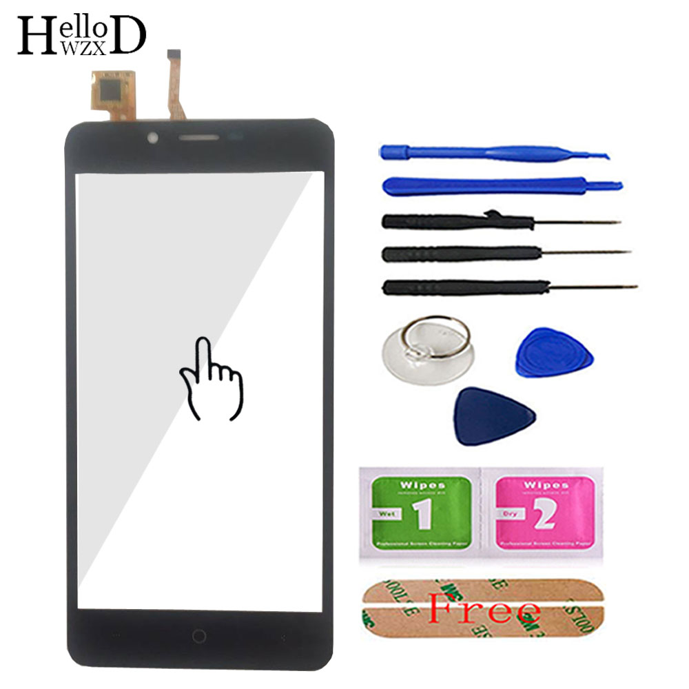 5.0'' Mobile Touchscreen Front For Leagoo Kiicaa Power Touch Screen Glass Digitizer Panel Sensor Flex Cable Tools Adhesive(China)