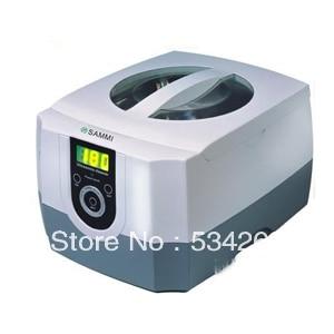 1400ML White Plastic Mini Digital Ultrasonic Cleaner for Home-use футболка женская diesel цвет бордовый 00ss5z 0wady 43u размер l 50
