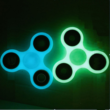 New Hand Spinner Triangle Puzzle EDC Luminous Spinner Fidgets Toy For Autism and ADHD Increase Focus AntiStress Glow in dark toy