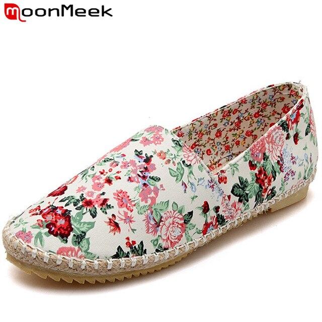 HEE GRAND Basket Femme Chaussures de Toile Floral Imprimé