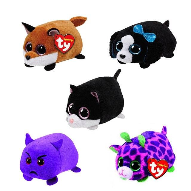 TY Beanie Boo Teeny Tys Plush Unicorn 9cm 15cm Original Ty Beanie Boos Big  Eyes Dog Unicorn Pig Plush Toy Doll Baby Kids Gift 8eb7cfdf4a6