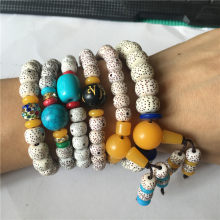2019 New Fashion stars the moon bodhi buddhist prayer beads bracelet Meditation-prayer bracelet jewelry(China)