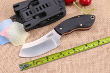 Camping Tactical Small Fixed Knives,9Cr18Mov Blade G10 Handle Rescue Knife,Survival Knife.