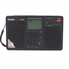 T ecsun PL-398MP MP3วิทยุเต็มยี่ห้อดิจิตอลจูนรับสเตอริโอที่มีฟังก์ชั่นMP3และนาฬิกา