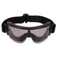 장난감 총 UV400 바람 먼지 전술 고글 안경 야외 스포츠 사이클링 남여 안경 군사 육군 보호 안경