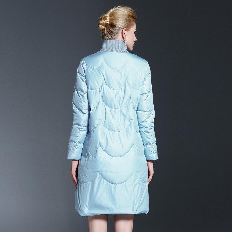 2017 Winter Long Coat Slim Thickened Warm Jacket Zipper Outwear New Jacket Parka Women fashion brand outwear high quality
