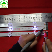 Novo Kit 3 PCS 8 LEDs 850 milímetros tira conduzida luz de fundo para LG Innotek 43LH604V Tipo 43LH60_FHD_A 16Y 43 polegada FHD_LED_ARRAY UF64_UHD_A