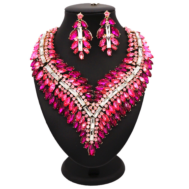 Sexemara nigerian beads necklace jewelry set African jewelry sets more indian jewelry turkish jewelry