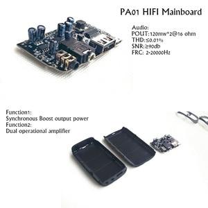 Image 3 - Artextreme PA01 מקצועי HiFi אוזניות מגבר כוח בנק DIY עצרת ערכות אודיו Amp קלאסי גדול כוח אוזניות Amp