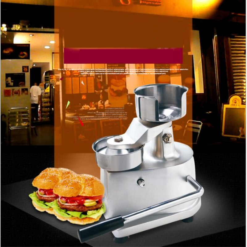 2017 hamburger patty maker,hamburger press machine,commerial hamburger machine free shipping штукатурка фактурная мокрый шелк серебристо белая вгт 6кг