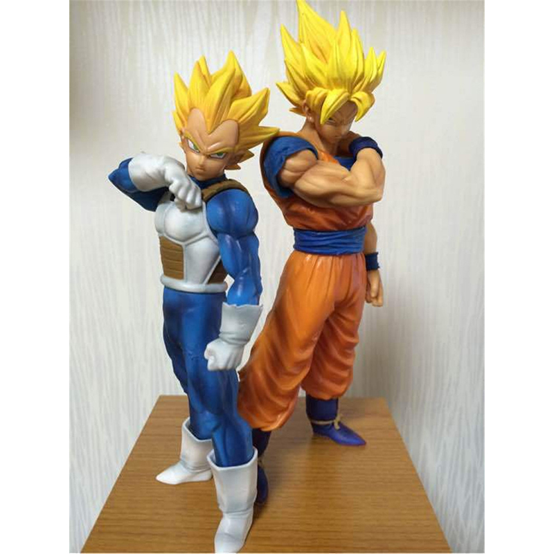 Anime Dragon Ball Z Resolution of Soldiers Action figure toys Son Goku Vegeta PVC Action Figure Model Toy Christmas Gift  N066 shfiguarts dragon ball z vegeta pvc action figure collectible model toy 6 5 16cm