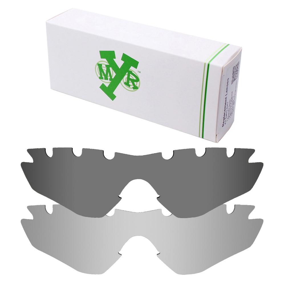 80724fc8b8f5d 2 peças Mryok M2 Frame Vented Lentes de Reposição para óculos Oakley óculos  de Sol POLARIZADOS Lente Prata Titanium   Preto IR em Acessórios de  Acessórios ...
