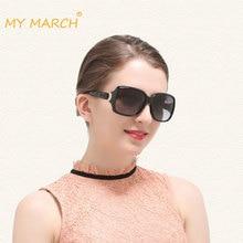 MYMARCH Fashion Polarized Sunglasses Women Brand Designer Vintage Polariod Sun Glasses Female Luxury Gradient Glasses Oculos