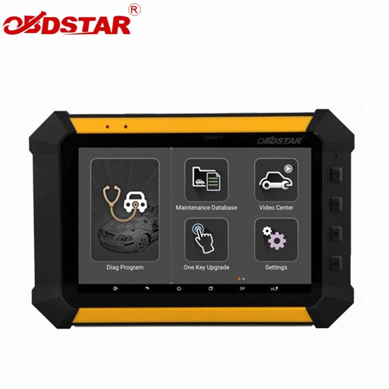 Obdstar X300 DP estándar immobilizer odómetro ajuste EEPROM/PIC adaptador OBDII X300 DP mejor que X300 pro una llave actualización