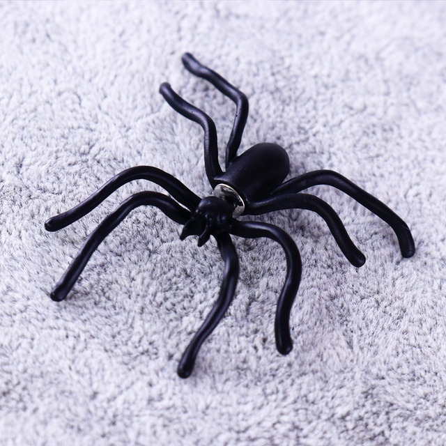 geekoplanet.com - The Giant Black Spider Earring