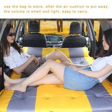 Car bed Air Mattress Auto Blow Up Bed Inflatable Raised Airbed Colchon Inflable Para