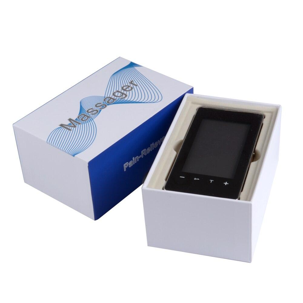 Pelvifine LCD inteligente de atención de la salud decenas unidad eléctrica acupuntura masajeador 12 Modo de cuerpo completo terapia muscular pulso masaje