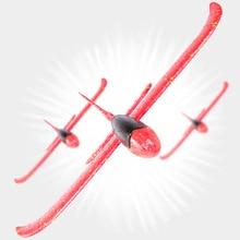 48 см большой ручной бросок пенопластовые самолеты детские игрушки «сделай сам» для детской игры Летающий планер модель аэроплана вечерние наполнители Летающий планер самолет игрушки