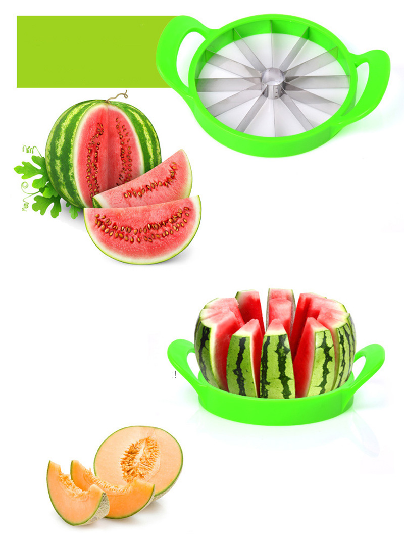 Kitchen gadgets 2018 Summer Stainless Steel Watermelon Sliced cutter knife fruit Slicer Salad Making tools kitchen accessories  (13)