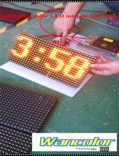 Darmowa wysyłka fabryka cena Super niska cena p10 zewnątrz żółty kolor wyświetlacz elektroniczny moduł panelu ekranu LED 320*160mm tanie tanio OUTDOOR text 10mm yellow DC 5v epistar