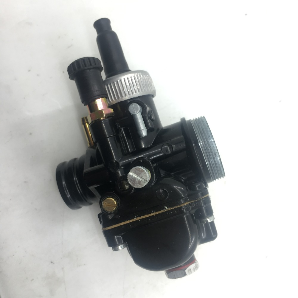 купить SherryBerg racing carburettor fit for PHBG 21 phbg21 DS Black 21mm Racing Carburetor Carb Dellorto manual choke mopes scooter по цене 2855.9 рублей