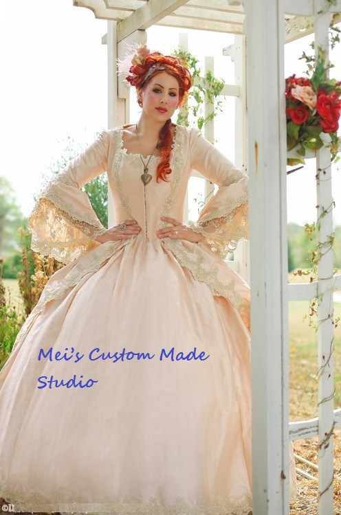 période Champagne Costume Marie Robe Antoinette Made Custom Multi Costume Fantasy Étincelle robe Théâtre Victorienne 8WwvqqYp5