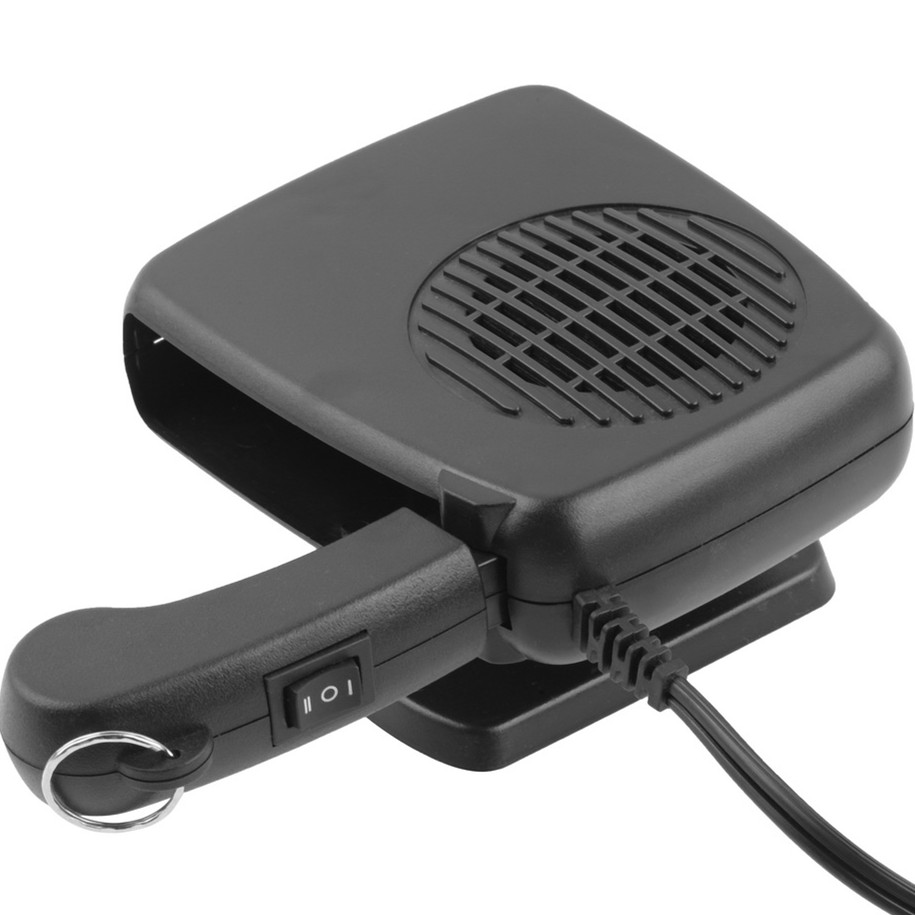 NEW 12V 150W Protable Car Heater Fan Using Car Styling Heating Fan Car Defroster Instant Heating Automatic Overheat Protective