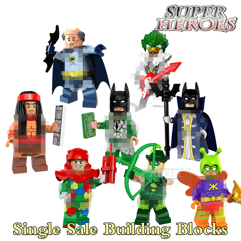 Single Sale Bat Alfred Apache Chief Super Hero Building Block Action Master Batman Figure Fantastic Toy Good Gifts PG8110