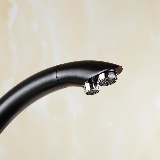 Robinets de cuisine en laiton massif grue pour cuisine filtre à eau purifiée robinet trois voies évier mélangeur 3 voies cuisine robinet ML91-A - 6