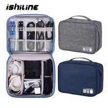 Дорожный Кабельный органайзер водонепроницаемый гаджет сумка для хранения держатель USB зарядного устройства цифровой комплект сумка электронные устройства, аксессуары, чехлы