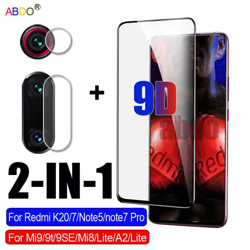 2 in1 保護xiaomi redmi注 8 7 proのガラスカメラスクリーンプロテクターmi 9 9t se mi 9 lite強化ガラスフィルム
