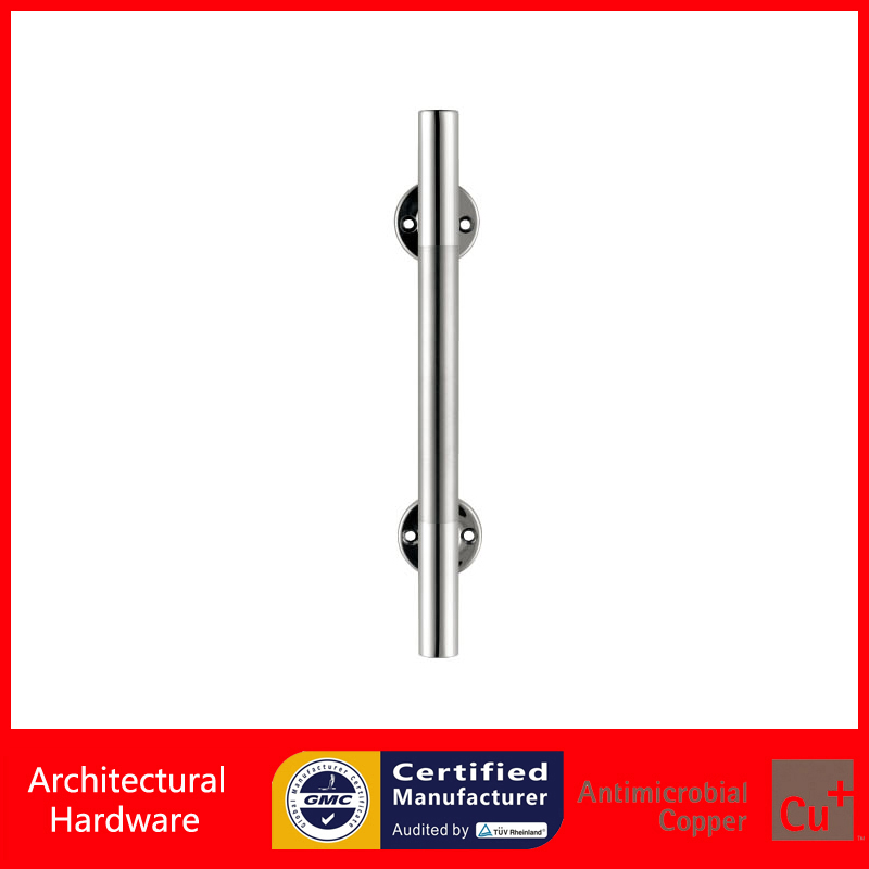 Practical Entrance Door Handle 304 Stainless Steel Polished and Brushed Pull Handles PA-371 For Wooden/Frame Doors 2000mm length square tube golden entrance door handle stainless steel pull handles for wooden metal glass doors pa 637
