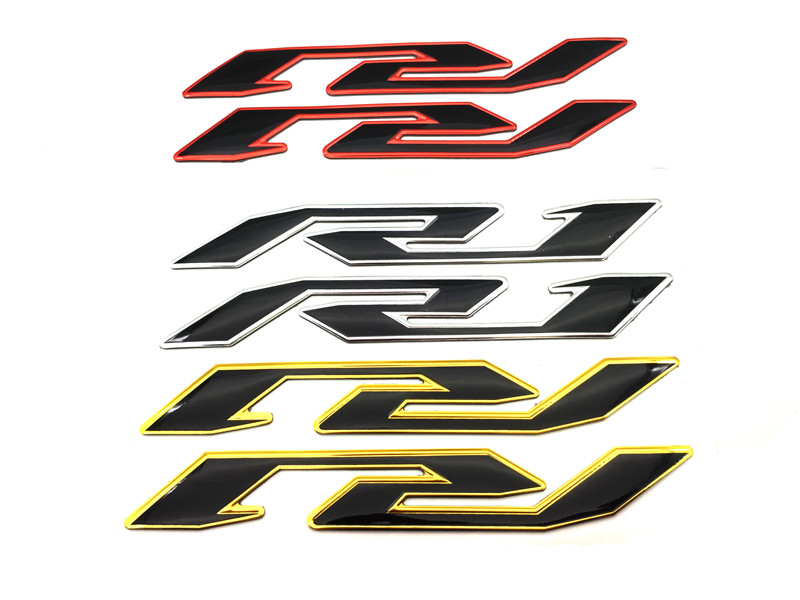Motorcycle Raise 3D Label Emblem Fairing Decals Body Shell Sticker For Yamaha R1 YZF-R1 YZF1000 1998-2014 2015 2016 2017 2018