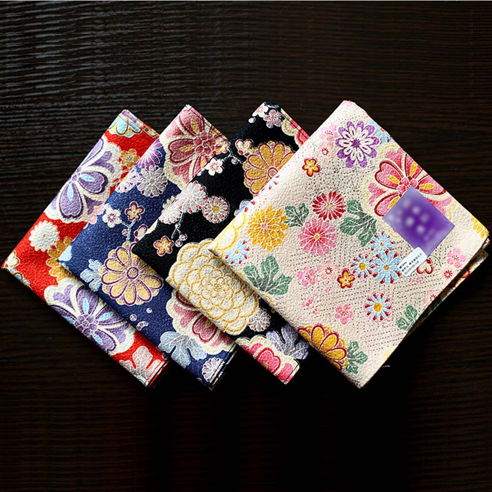 Nice Daisy Colorful Printing Handkerchiefs 53*53cm WOMEN's Multi-use Soft Cotton Kerchiefs Luxury Quality Square Hankies SY1907