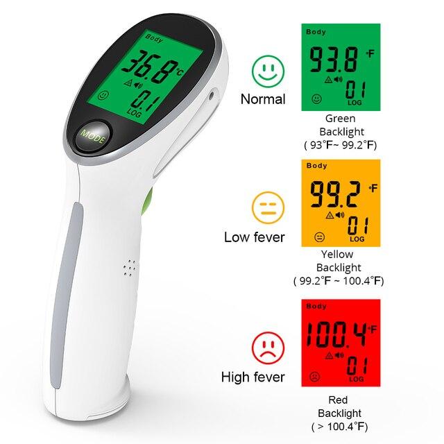 Инфракрасный бесконтактный термометр Yongrow YK-IRT2 1