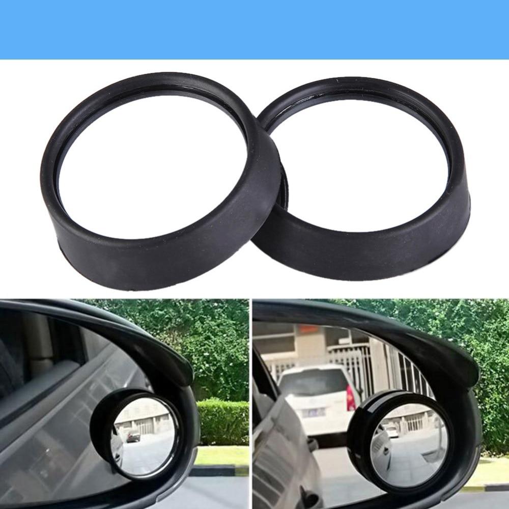 New Round Convex Car Mirror Blind RearView for Maruti 800 Alto Baleno Esteem Gypsy Zen/Alpina B3 B4 B5 B6 B7 D3 D5 Roadster XD3