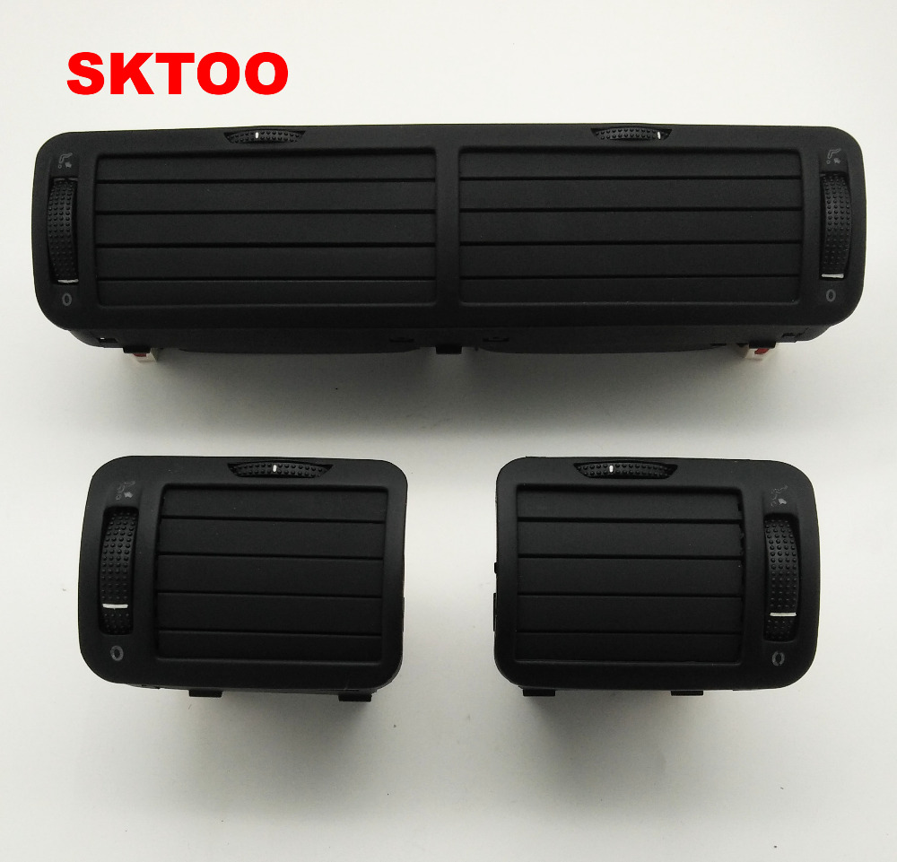 SKTOO 3pcs air outlet for VW passat B5 instrument air outlet central air conditioning air outlet