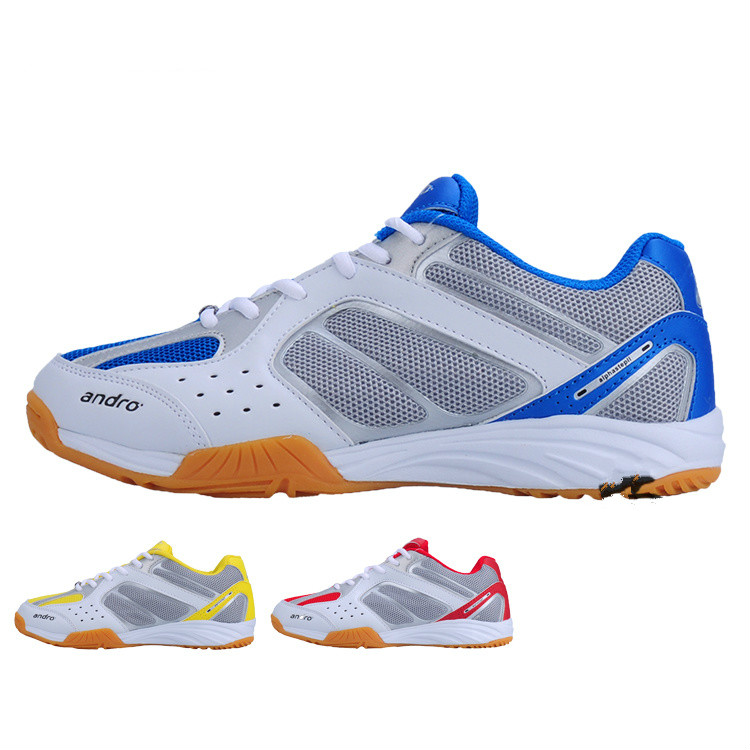Andro Men Women ProTable Tennis Shoes Breathable Sport Shoe Ping Pong Training Sneakers Hard wearing