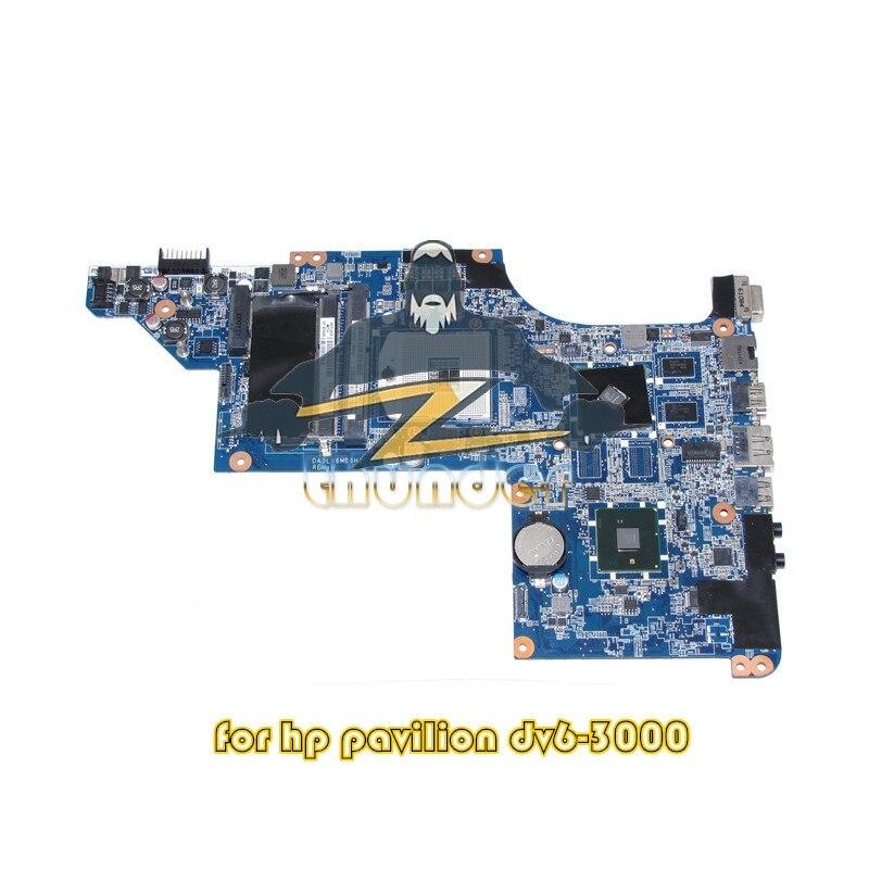 DA0LX6MB6H1 631042-001 for hp DV6 DV6-3000 laptop motherboard HM57 HD6370 512M ddr3 744008 001 744008 601 744008 501 for hp laptop motherboard 640 g1 650 g1 motherboard 100% tested 60 days warranty